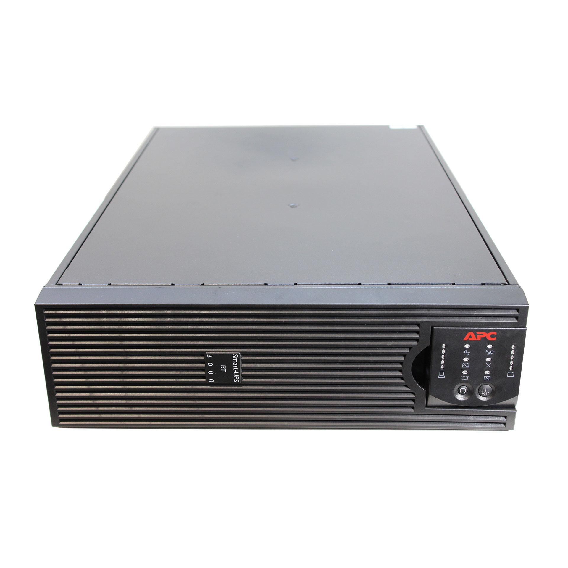 UPS APC SURTD3000XLI  + Battery Pack Extern Dell DLRT192RMXLBP3U Black, Rackabil 3U,Cutie Originala, Lipsa Acumulatori, 2 ANI GARANTIE - imaginea 1