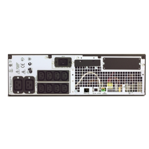 UPS APC SURTD3000XLI  + Battery Pack Extern Dell DLRT192RMXLBP3U Black, Rackabil 3U,Cutie Originala, Lipsa Acumulatori, 2 ANI GARANTIE - imaginea 2