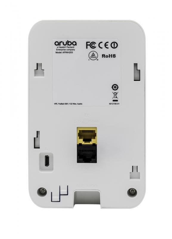 Aruba AP-203H (RW) Flex-radio 802.11ac 2x2 Unified Hospitality AP with Internal Antennas - imaginea 2