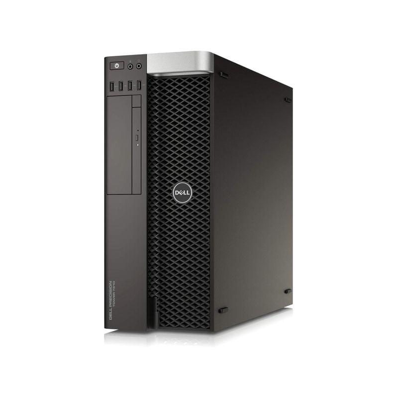 Workstation DELL Precision T7810 Tower, 2 Procesoare Intel 12 Core Xeon E5-2678 v3 2.5 GHz, 64 GB DDR4 ECC , 1 TB HDD SATA, Placa video nVidia Quadro M4000, 8 GB GDDR5, Windows 10 Pro, 3 Ani Garantie - imaginea 1