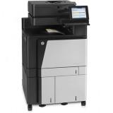 Imprimanta multifunctionala LaserJet Enterprise Color HP Flow M880 MFP, A3, 25.000 pagini/luna, 1200 x 1200 DPI, Duplex, USB, Fax, Network, TouchScreen, ADF, Scanner, Pagini printate 200.000 - 500.000 - imaginea 2