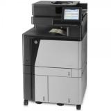 Imprimanta multifunctionala LaserJet Enterprise Color HP Flow M880 MFP, A3, 25.000 pagini/luna, 1200 x 1200 DPI, Duplex, USB, Fax, Network, TouchScreen, ADF, Scanner, Pagini printate 200.000 - 500.000 - imaginea 3