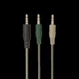 Casti cu microfon Trust GXT 322C Carus Gaming Headset, jungle camo - imaginea 7