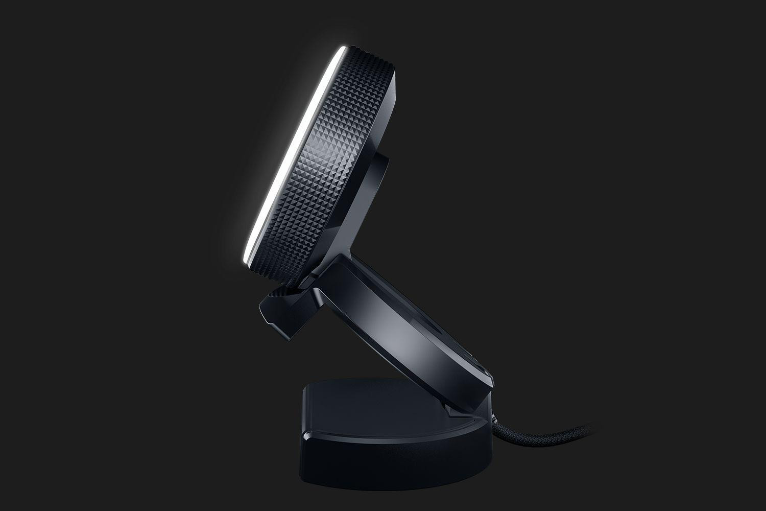 Webcam Razer Kiyo HD 720p, Image resolution: 4 Megapixels, Still Image Resolution: 2688x1520, 720p up to 60fps, microfon, USB, Cable Length: 1.5 meters braided cable, Compatible with Open Broadcaster Software and Xspli - imaginea 2