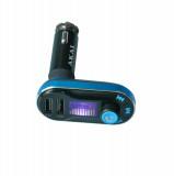 Modulator FM Akai FMT-66B, Bluetooth, functie incarcator telefon, USB si cititor SD Card (Max. 32GB), Play and transmit audio files – format MP3/WMA