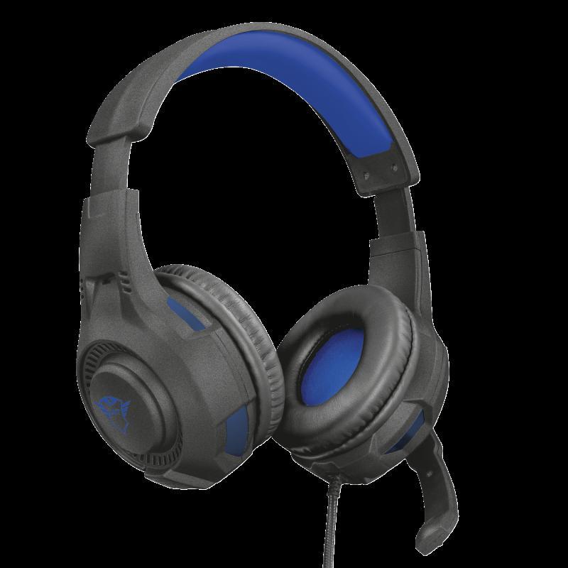 Casti cu microfon Trust GXT 307B Ravu Gaming PS4, negru - imaginea 5