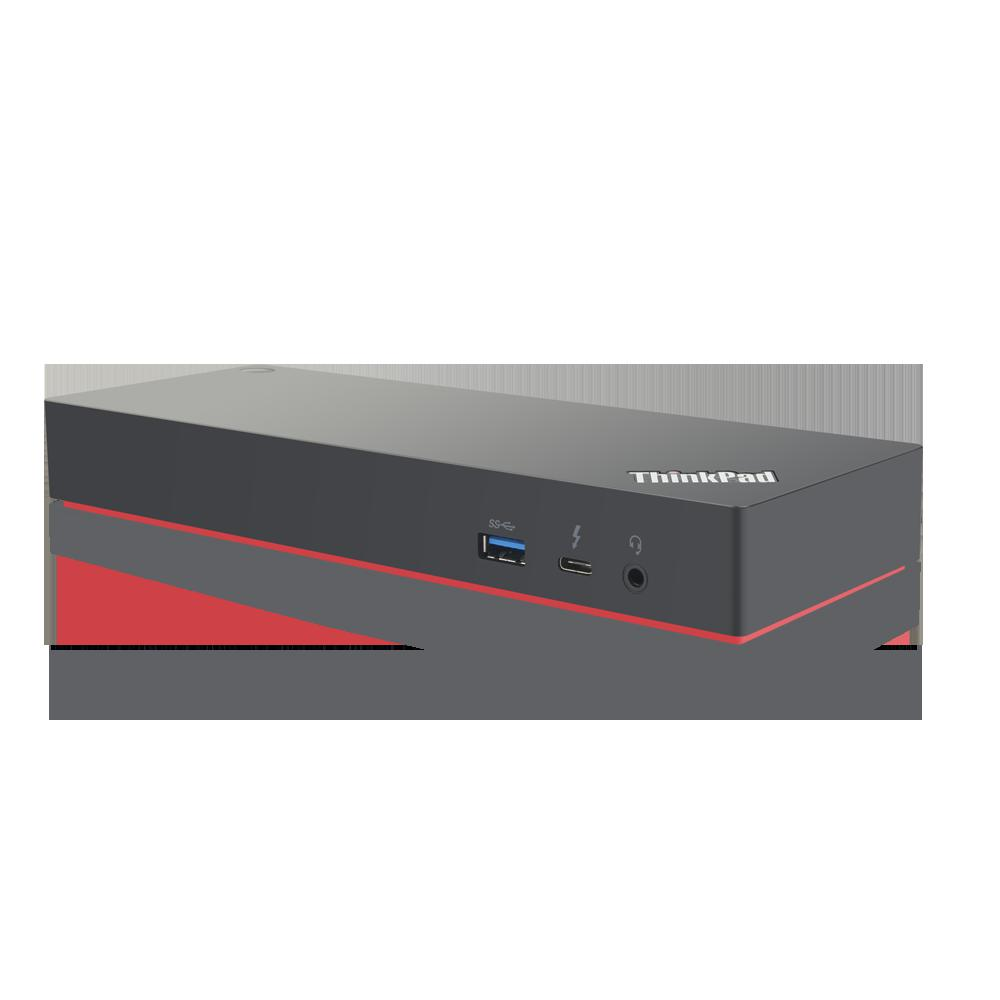 Docking Station Lenovo ThinkPad Thunderbolt 3 Workstation Dock Gen 2, Porturi: 2 x DisplayPort, 2 x HDMI, 1 x Thunderbolt 3 DownStream Port (video/data), 5 x USB 3.1 gen 2, 1 x Gigabit Ethernet, 1 x Kensington Lock Slot, 1 x 3.5 mm Stereo/Microphone Combo Port, 3 x max external monitorsMaximum - imaginea 6