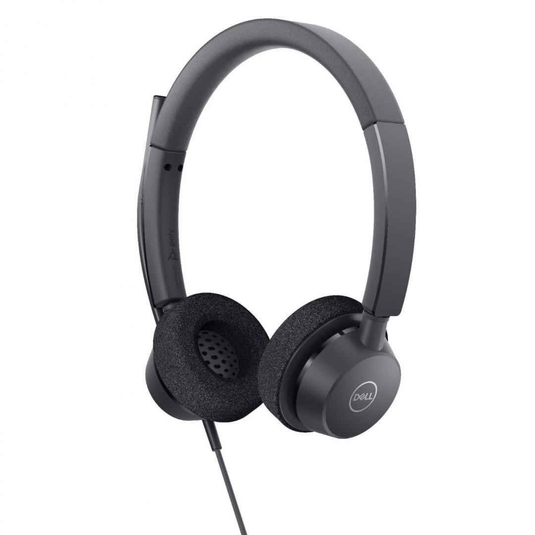 Casti Dell Pro Stereo Headset WH3022 - imaginea 3