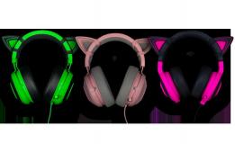 Kitty Ears for Razer Kraken Quartz Ed. - imaginea 3