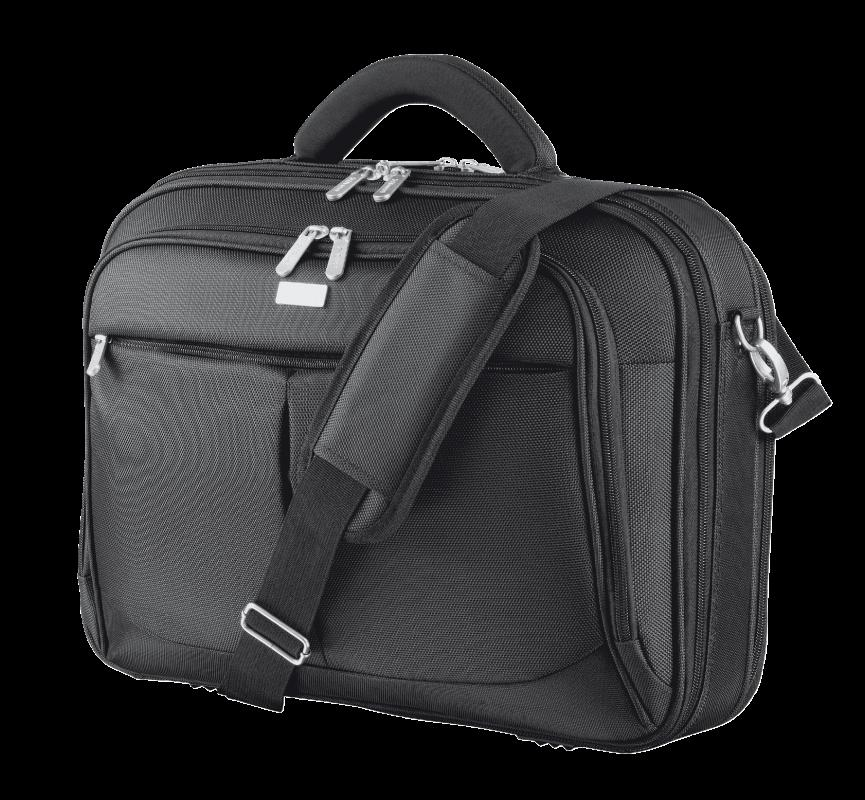 "Geanta Trust Sydney Carry Bag for 16"" laptops - black - imaginea 1"