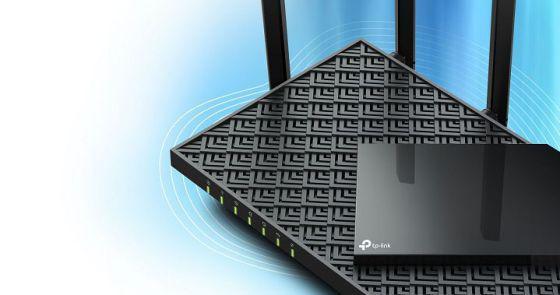 TP-LINK AX5400 Dual-Band Gigabit WI-FI6 Router, Standards: IEEE 802.11ax/ac/n/a 5 GHz, IEEE 802.11ax/n/b/g 2.4 GHz, 5 GHz: 4804 Mbps (802.11ax), 2.4 GHz: 574 Mbps (802.11ax), 6× Fixed High-Performance Antennas, 4×4 MU-MIMO, 1.5 GHz Triple-Core CPU, 1× Gigabit WAN Port, 4× Gigabit LAN Ports. - imaginea 1