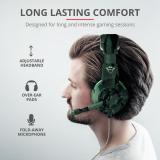 Casti cu microfon Trust GXT 310C Radius Gaming Headset, jungle camo - imaginea 8