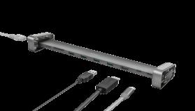 Adaptor Trust Dalyx Aluminium 10-in-1 USB-C Multi-port Dock - imaginea 14