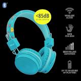 Casti cu microfon Trust Comi Kids, Bluetooth Wireless, blue - imaginea 5