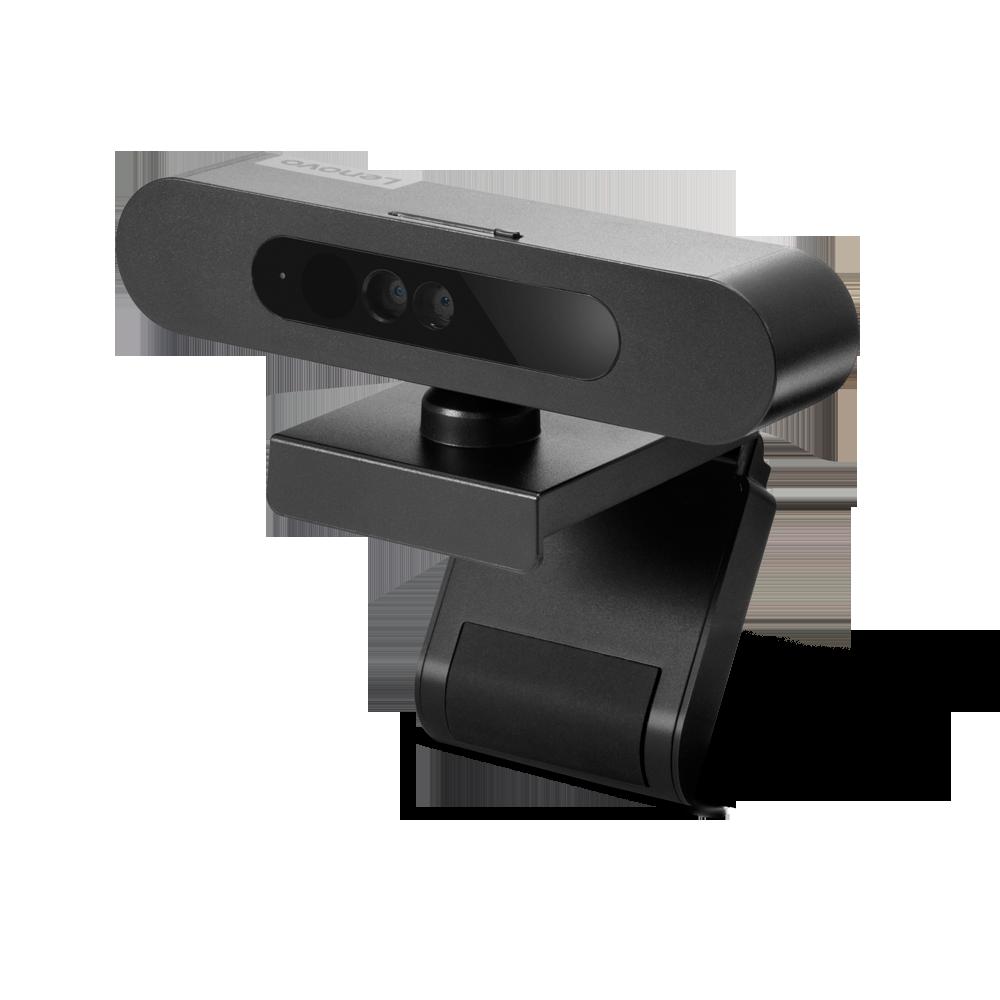 Camera Web Lenovo 500 FHD, Wired, Power Input 5 V, 900 mA, 107 x 63 x 50.4mm, 123 g w/o USB Cable, Black - imaginea 1