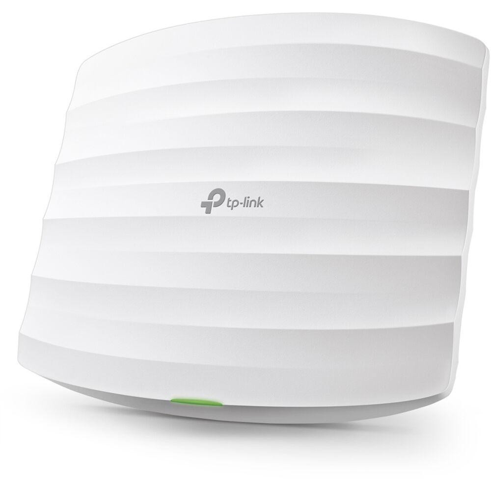 Wireless Access Point TP-Link EAP265 HD, AC1750 wireless MU-MIMO, Gigabit, ceiling mount, 2 × Gigabit Ethernet (RJ-45) Port, (One port supports IEEE802.3af/at PoE and Passive PoE), Wireless Standards: IEEE 802.11ac/n/g/b/a,  5 GHz: Up to 1300 Mbps, 2.4 GHz: Up to 450 Mbps, management-Omada App. - imaginea 1
