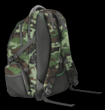"""Rucsac Trust GXT 1250G Hunter Gaming Backpack for 17.3"""" laptops - green camo - imaginea 3"""