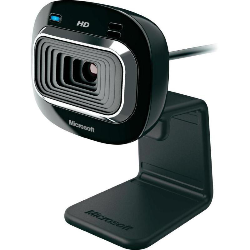 WebCam PC Microsoft LifeCam HD-3000 HD negru - imaginea 2