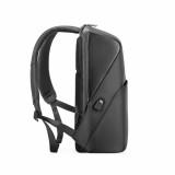 """Rucsac notebook Serioux, SMART TRAVEL ST9590, dimensiuni 31 x 16 x 46 cm, rezistent la apa, compartimente multiple, compartiment separat pentru notebook: max. 15.6"""", bretele ajustabile, port de încărcare USB, buzunar ascuns la spate, material poliester - imaginea 3"""