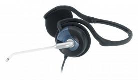 Casti cu microfon Genius HS-300N, negru/albastru - imaginea 2