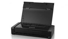 Imprimanta inkjet color portabila Epson WF-100W, dimensiune A4, viteza 7ppm alb-negru, 4ppm color, rezolutie 5760x1440 dpi, alimentare hartie 20 coli, interfata USB2.0, Wireless,  Wi-Fi Direct, PictBridge, Google Cloud Print, Air Print, Epson Connect (iPrint, Email Print, Remote Print Driver)