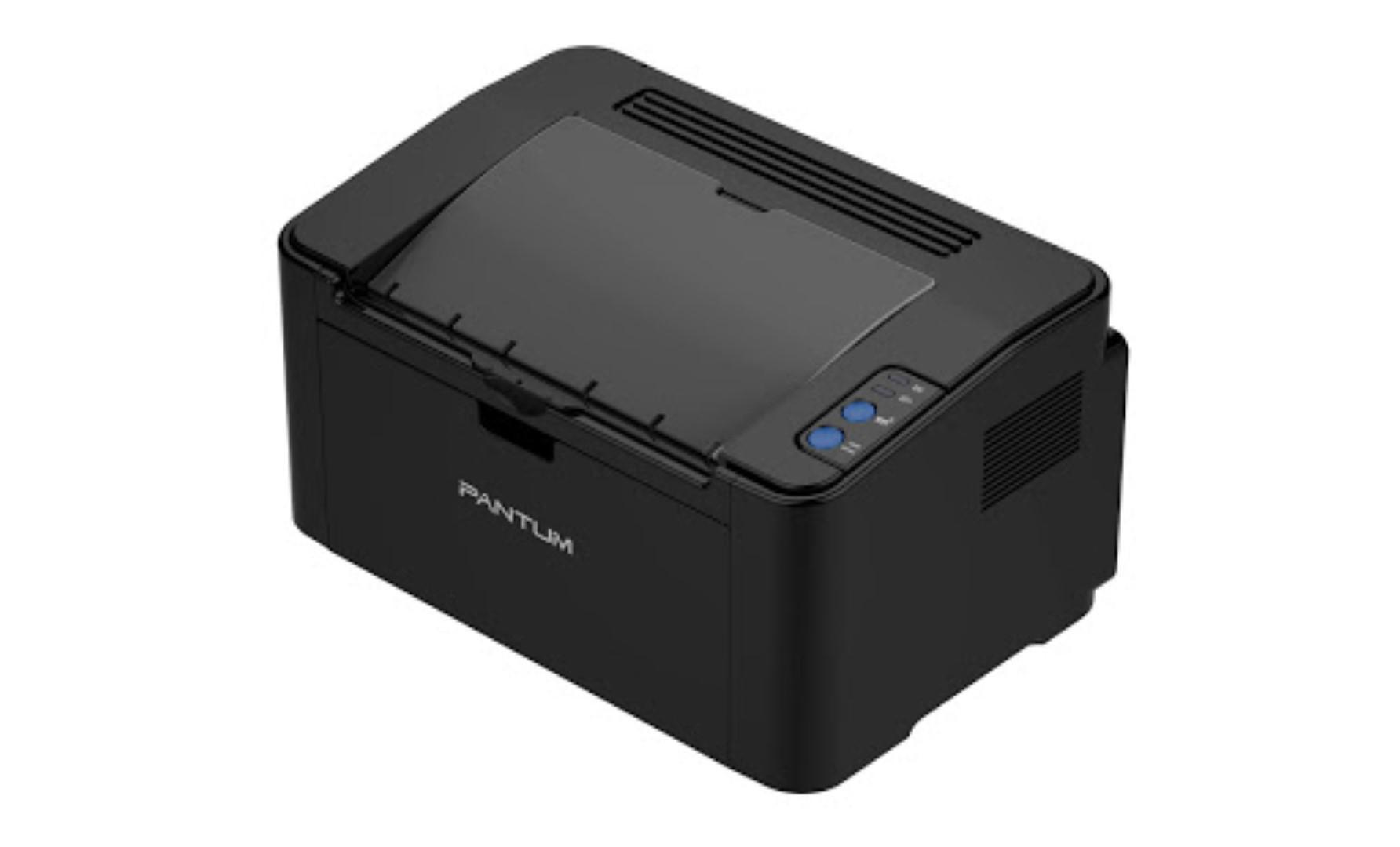 Imprimanta laser mono Pantum P2500W, Dimensiune:A4, Rezolutie:max 1200x1200, Viteza:22ppm, Procesor:600 MHz, Memorie:128MB, Capacitate alimentare 150 de coli, capacitate iesire:100 coli, Greutate hartie: 60- 163 g/mpLimbaj de printare : GDI, Volum recomandat 700 pagini, volum maxim 15000 pagini - imaginea 1