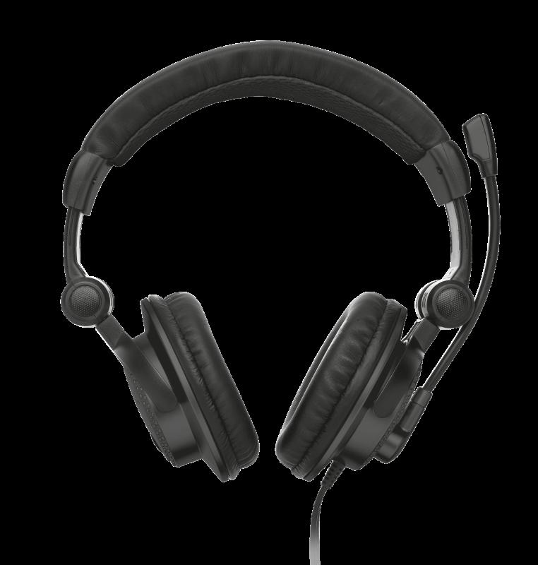 Casti cu microfon Trust Como, negru - imaginea 1