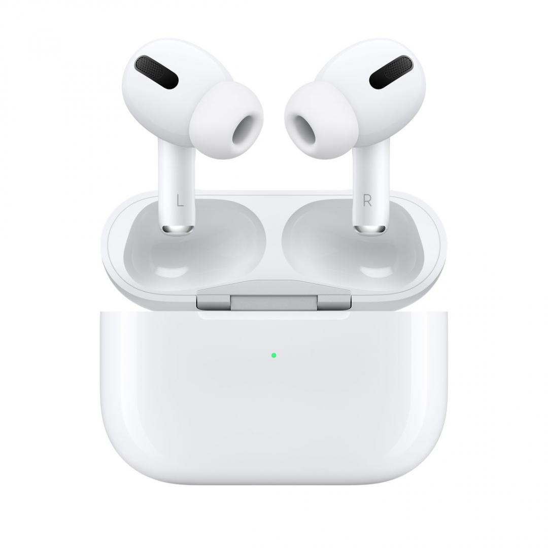 Casti Apple AirPods 2, albe - imaginea 1