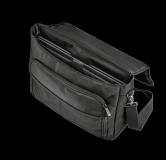 "Geanta GXT1270 Bullet Messenger Bag 15.6"" Black - imaginea 8"