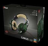 Casti cu microfon Trust GXT 322C Carus Gaming Headset, jungle camo - imaginea 12