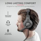 Casti cu microfon Trust GXT 307 Ravu Gaming Headset, negru - imaginea 8