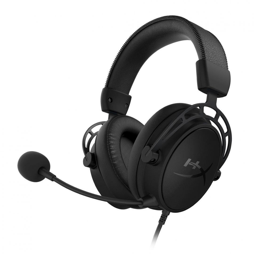 Casti cu microfon Kingston HyperX Cloud Alpha S, negru - imaginea 2