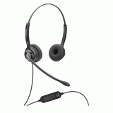 Casti cu microfon Axtel MS2 duo NC USB, negru