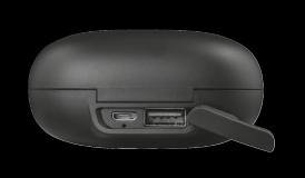 Casti Trust Duet XP Bluetooth Earphones, negru - imaginea 9
