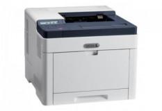 Imprimanta laser color Xerox Phaser 6510V_DN, dimensiune A4, duplex, viteza max 28ppm alb-negru si color, rezolutie 1200x2400dpi, procesor 733 MHz, memorie 1GB RAM, alimentare hartie 250 coli + tava manuala 50 coli, limbaj de printare: Adobe PostScript 3, PCL 5e, 6, PDF, TIFF, volum de printare max