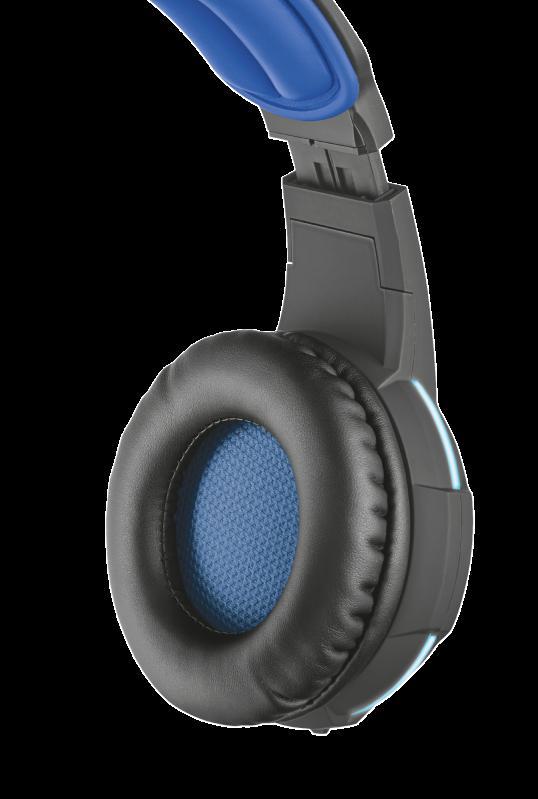 Casti cu microfon GXT 350 Radius 7.1 Surround Gaming, negru - imaginea 6