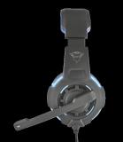 Casti cu microfon GXT 350 Radius 7.1 Surround Gaming, negru - imaginea 4
