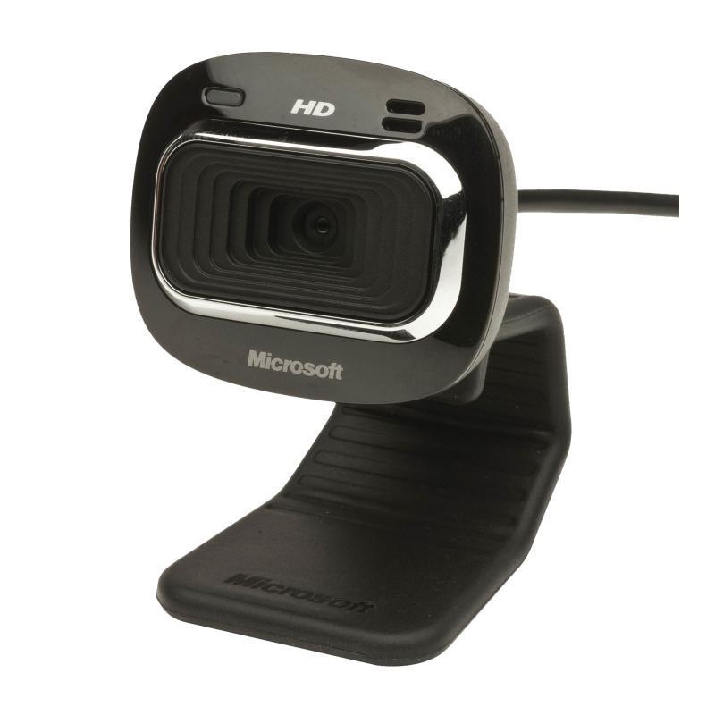 WebCam PC Microsoft LifeCam HD-3000 for business, HD negru - imaginea 2