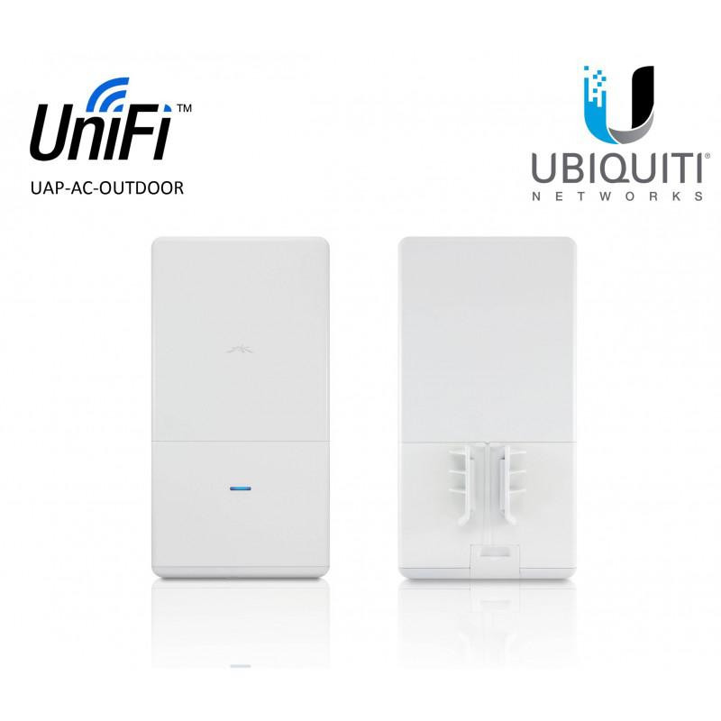 Ubiquiti UniFi Acess Point in-wall UAP-AC-IW, 3x Gigabit LAN, AC1200 (300+867Mbps), 2x2 MIMO 2.3GHz, 2x2 MIMO 5GHZ, Indoor, 802.3at PoE+, Wireless Uplink, DFS Certification, 19W cu poe out, nu are injector inclus in cutie, recomandat alimentare direct din switch cu poe - imaginea 1
