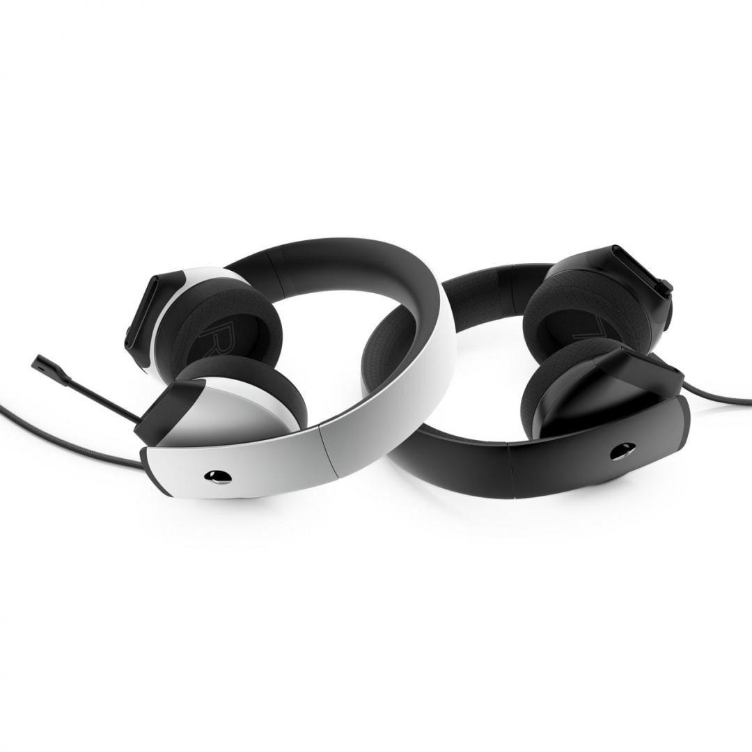 Casti Dell Headset Alienware Gaming AW510H, lunar light - imaginea 2