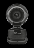 Camera WEB Trust Exis Webcam - black/silver - imaginea 2