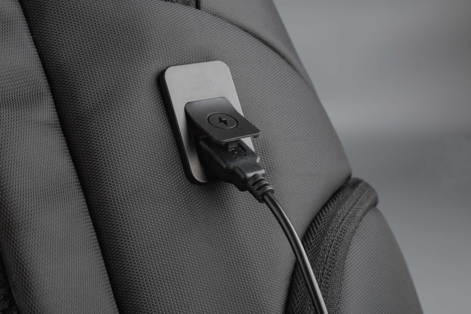 """Rucsac notebook Serioux, SMART TRAVEL ST9588, dimensiuni: 32 x 19 x 46 cm, rezistent la apa, compartimente multiple, compartiment separat pentru notebook: max. 15.6"""", bretele ajustabile, port de încărcare USB, buzunar ascuns la spate, material poliester - imaginea 5"""