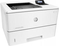 Imprimanta laser Mono HP Laserjet Pro M501dn; A4, max 43ppm (34ipm Duplex), 600x600dpi (4800x600 enhanced dpi Black), 256MB RAM, procesor 1.5GHz, fpo 5.8 sec (ready), HP PCL 5, HP PCL 6, HP Postscript Level 3 emulation, direct PDF (v1.7) printing, URF, PCLM, PWG, tavi 100+550 coli, Duplex, display