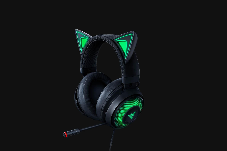 Casti cu microfon Razer Kraken Kitty Black USB 7.1 Surround Sound, negru - imaginea 2