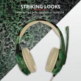 Casti cu microfon Trust GXT 310C Radius Gaming Headset, jungle camo - imaginea 3