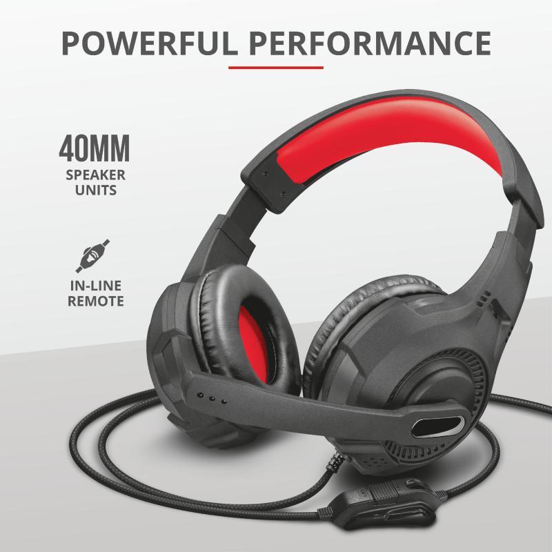 Casti cu microfon Trust GXT 307 Ravu Gaming Headset, negru - imaginea 4