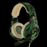 Casti cu microfon Trust GXT 310C Radius Gaming Headset, jungle camo - imaginea 1