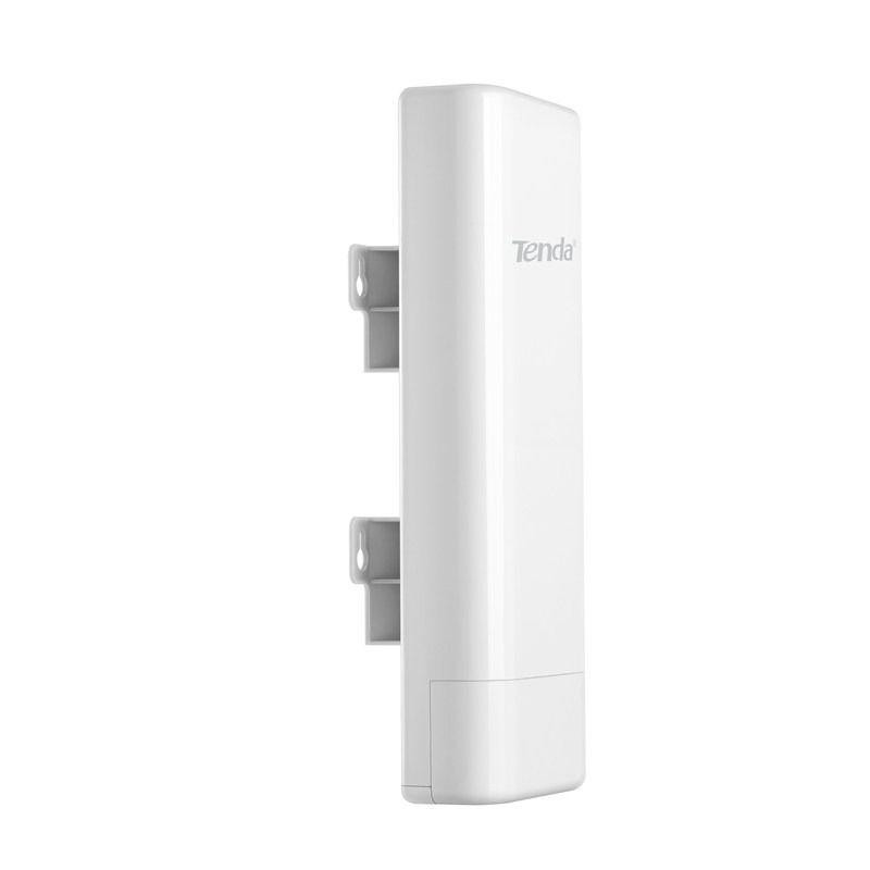 TENDA O6 5GHz 433Mbps outdoor Point to Point CPE, 5GHz to 433Mbps, 11AC, IP64 waterproof enclosure, 16dbi directional antenna, AP,Station,WISP etc operating mode supported, Up to 60 meters of flexible deployment included PoE Injector, Processor Broadcom 800MHz, Interface1*GE PoE/WAN/LAN port - imaginea 1