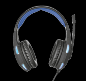 Casti cu microfon GXT 350 Radius 7.1 Surround Gaming, negru - imaginea 5