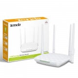 Router Wireless TENDA FH456, 300Mbps, 1* FH456 router, 1* power adapter ,1*quick installation guide, 1* Ethernet Cable, 2.4GHz, 1*WPS/RST 1*WIFI,4*5dBi external antennas, 1* 10/100M Ethernet WAN port 3* 10/100MEthernet LAN ports, Standard&Protocol: IEEE802.11/b/g/n - imaginea 1
